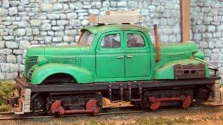 Modelleisenbahn Bear Lake Industries von Hanns Hirblinger