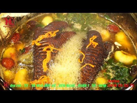 Chân và ngọc kê gà Đông Tảo tiềm