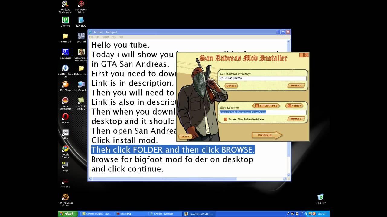Gta sa mod installer sami download
