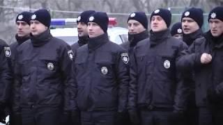 Про випуск патрульних у телепрограмі «Вартові правопорядку»