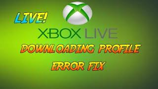 [XBOX LIVE] Profile Download Error Fix