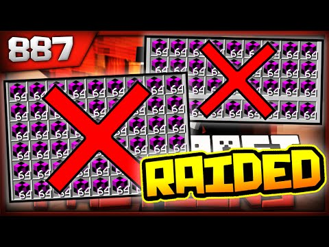 Minecraft FACTIONS Server Lets Play - *WE GOT RAIDED* LOST $500 MIL! - Ep. 887 ( Minecraft Faction )