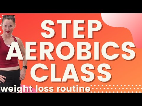 Step Aerobics Workout for Weight Loss Workout Routine |Tone & Sculpt |Simple & Fun:|AngieFitnessTV