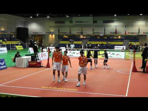 Sepak Takraw King's Cup 2012 - Malaysia vs. Korea - 3rd Regu (Team Event Semi Final)