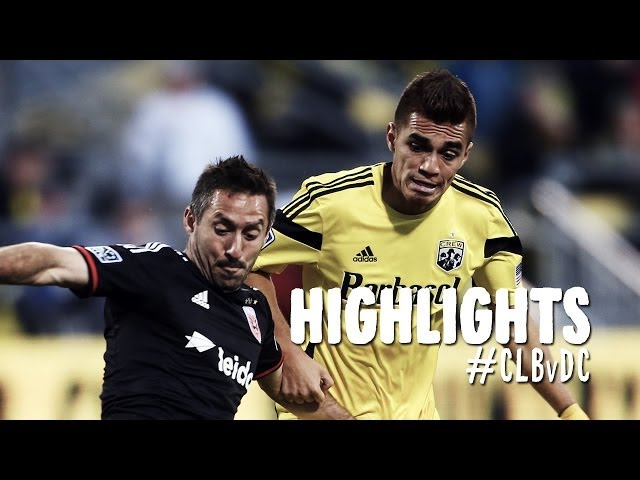 HIGHLIGHTS: Columbus Crew vs. D.C. United | April 19, 2014