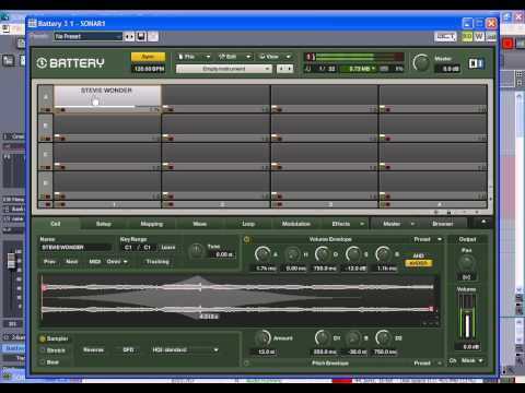 native instruments battery 3 working with samples