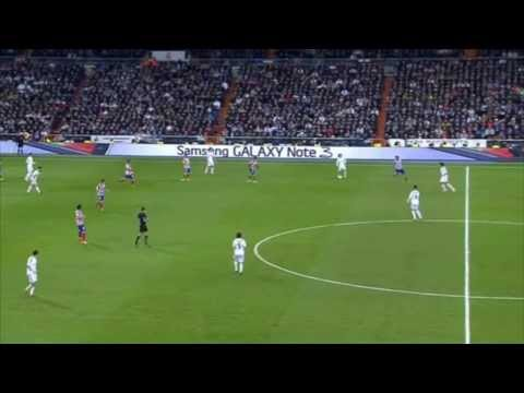 Luka Modric vs Atletico Madrid [Copa Del Rey] HD (05/02/2014)
