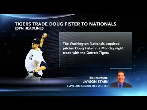 Washington Nationals acquire Doug Fister in trade with Detroit Tigers