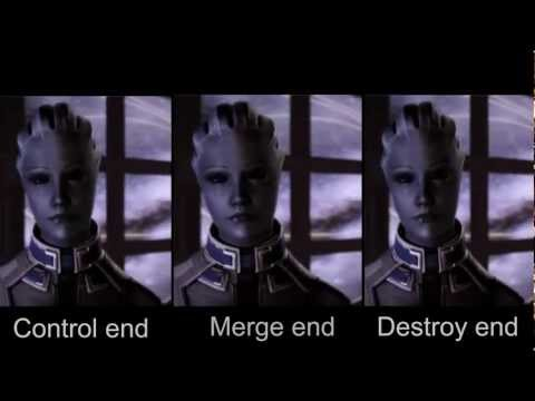 Mass Effect 3: Original Endings Side-by-side