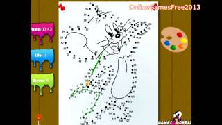 Tom And Jerry Online Games Tom And Jerry Dot To Dot Game