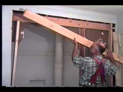 Pocket Door Installing And Regular Door Install At The