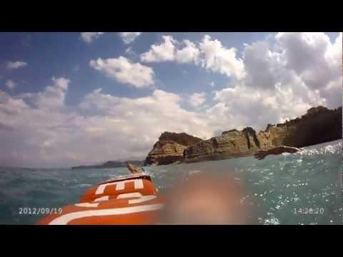 project corfu video Lifeguards Swimming Corfu LOGGAS CAPE DRASTIS - SIDARI