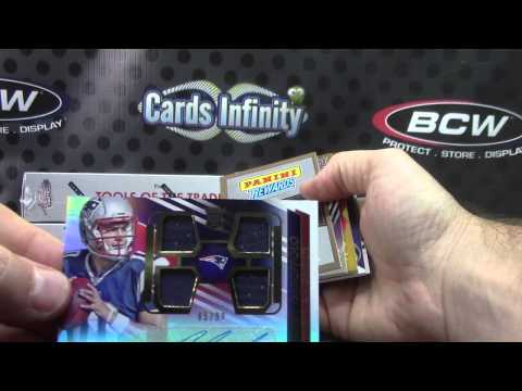 Hai's 2014 Absolute Football & Topps Chrome Mini NFL 4 Box Break
