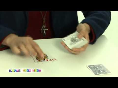 Ảo thuật bài 4 lá kỳ diệu cùng ảo thuật gia J