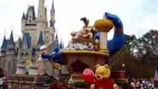 Disneyworld Parade In Magic Kindom Of Orlando Florida