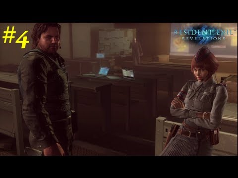 Resident Evil: Revelations HD Walkthrough - 04 - Capitulo 3 Ingles Sub Español *Huellas* PS3/360