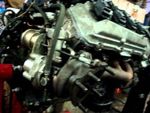Построение двигателя 1UZ-FE с двойной турбиной