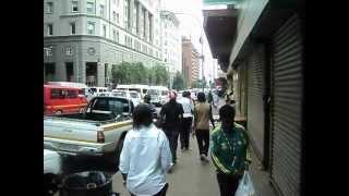 The streets of Johannesburg, kwaGauteng