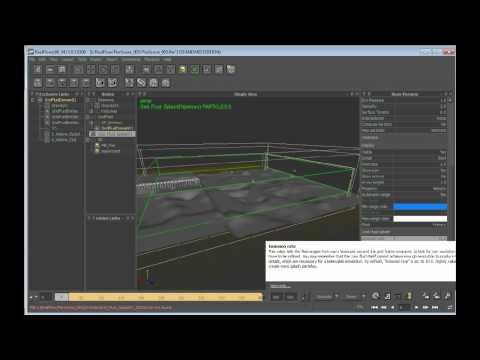 Create a large-scale water simulation in RealFlow (7 of 9)