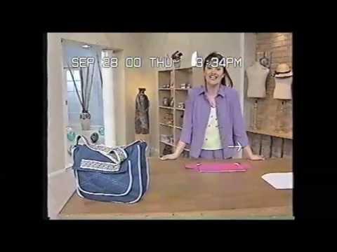 Puntos y Puntadas 76. Bolso de Jean azul. Liliana Villordo.