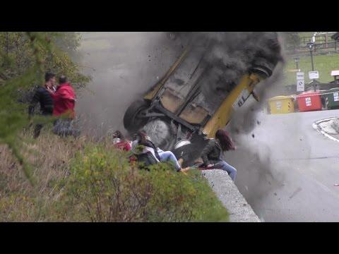 حادث مرعب في رالي إيطالي
