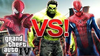 The Amazing Spider Man VS Spider Man VS The Incredible