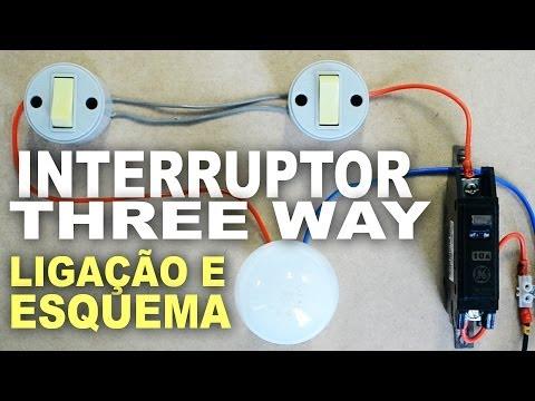Como ligar interruptor Paralelo - Three Way