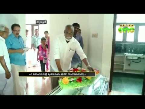 Media One editor-in-chief C.L Thomas pay homage to P.Mohanan