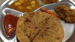Delhi Street Foods - Papad Paratha..