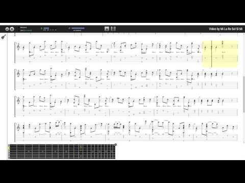 Gặp Mẹ Trong Mơ - Thùy Chi (tab guitar Haketu)