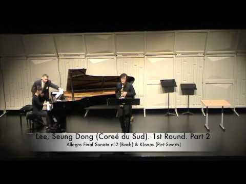 Lee, Seung Dong (Coreé du Sud). 1st Round. Part 2
