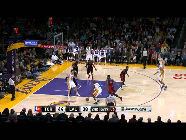 Kobe Bryant's First Field Goal of His Return