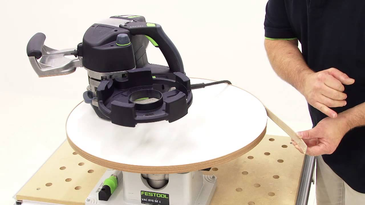 festool tv folge 42 bekanten von kreisrunden werkst cken youtube. Black Bedroom Furniture Sets. Home Design Ideas