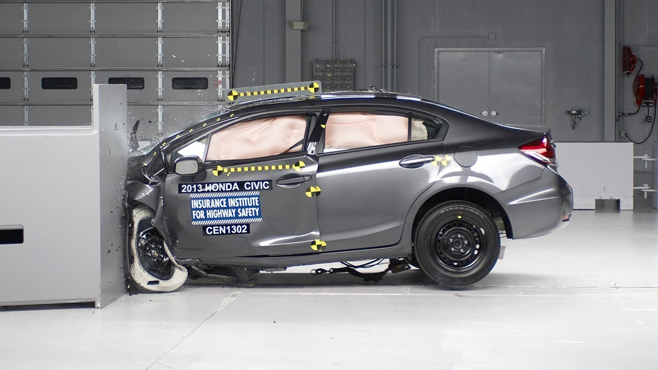 Iihs small overlap crash test 2015 honda pilot autos post for Iihs honda crv