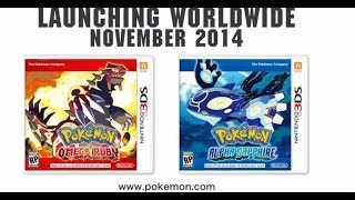 Pokemon Alpha Saphire And Omega Ruby Coming November