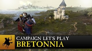 Total War: WARHAMMER - Bretonnia Campaign Let's Play