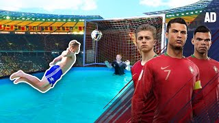Van Persie DIVING HEADER Challenge | Ronaldo's Road To The World Cup - EP. 4