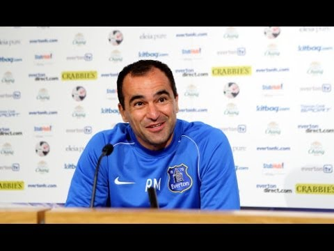 LIVE: Roberto Martinez pre-Swansea press conference