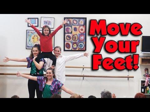 MOVE YOUR FEET!!! Jillian's Tap Dance!