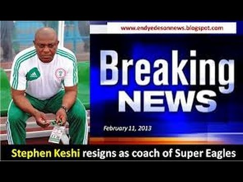 Stephen Keshi at the Nations Cup - Part 2