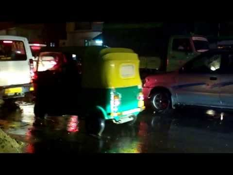 Traffic Jam in Bangalore during Rains