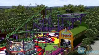 "Six Flags México ""The Joker"" NUEVO JUEGO"