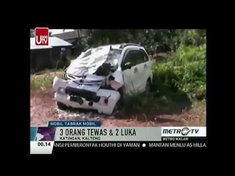 Berita Terbaru Hari Ini 11 April 2015 - Kecelakaan Maut Di Kalteng 3 Orang Tewas