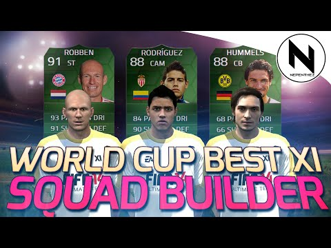 FIFA 2014 WORLD CUP - BEST XI