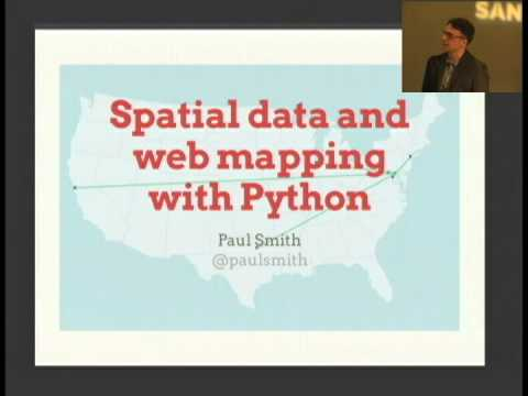 Spatial data and web mapping with Python