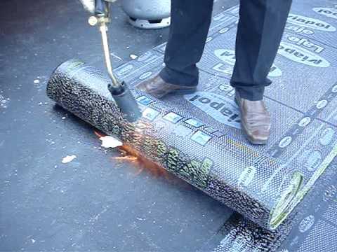 Como aplicar manta asfaltica adesiva
