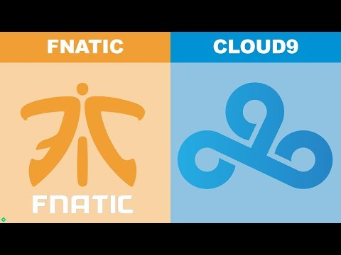 Fnatic vs C9 Game 1 - Worlds 2018 Semifinals - FNC vs Cloud9 G1