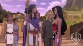 Wonder Woman Animated Movie: Birth Of The Hero