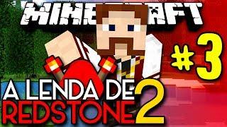 A Lenda de Redstone 2 - ENDERLORD E VIRO: O GRANDE BOSS!! - #3 - Minecraft