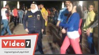Hao123-بالفيديو.. شاهد طريقة تعامل عقيد شرطة نسائية مع متحرش فى الأزهر بارك